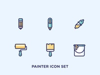Painter Icon Set