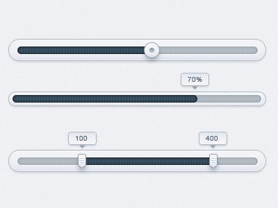 Sliders slider progress bar tooltip range slider