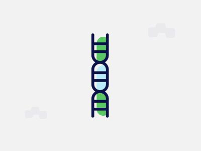 Minimal DNA Illustration illustration minimal dna