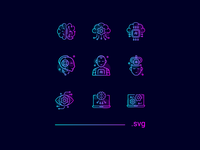 FREE - Artificial Intelligence Icons