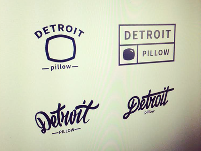 Detroit Pillow