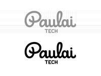 Paulai Tech goodtype guidelines logodesign logolearn logo brand identity idenity app logotype brush typography handwritten branding process sketch custom calligraphy script lettering