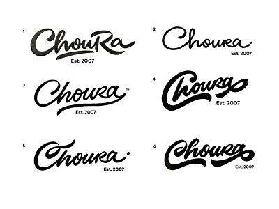 Choura handlettering process goodtype brushlettering losangeles events choura unique handtype handwritten logomaker logodesign design logo custom calligraphy script flow type lettering