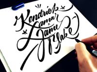 Kendrick Lamar x James Blake