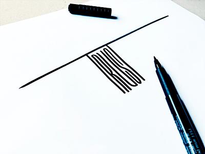 Trust illustration font condensed logo smart idea trust unique handwriting typography flow brush script type handwritten branding process calligraphy custom lettering