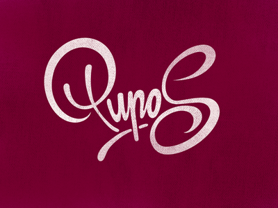 Final Pupos tv advertising video graphic design purple cheesy sweet girls ladies name lithuania forsuregraphic collab pupos lettering calligraphy type freelance