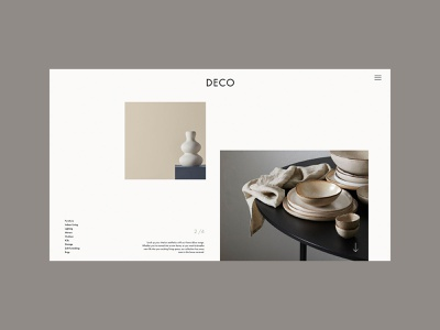 Home Decor Landing Page ecommerce product product page graphics graphic design user interface landing page webpage digital digital desgin website web typography design ux ui