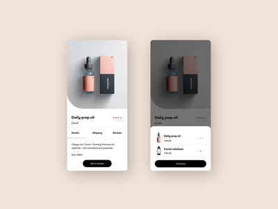 Product Page UI skincare beauty website beauty product page ecommerce design webdesigner ecommerce user interface digital design digital web design website design ux ui