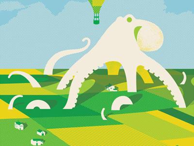 Phish Kansas City phish kansas city missouri octopus patchwork fields