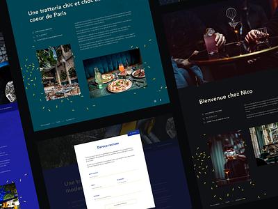 Restaurant website sketch app sketch website restaurant