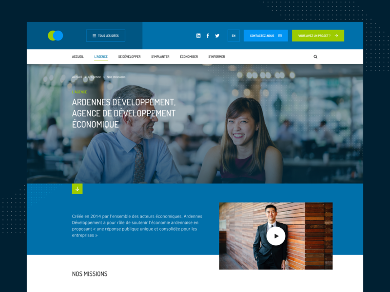 Corporate website institutional corporate ui website sketch