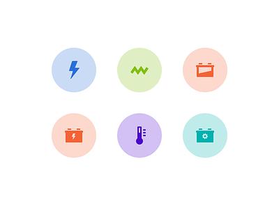 Web App design icon design icon set ui sketch app sketch