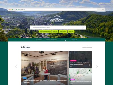 Institutional website institutional design ui sketch app website sketch