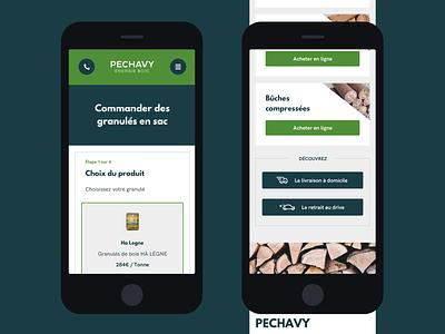 Wood e-commerce website website website design ux ui sketch