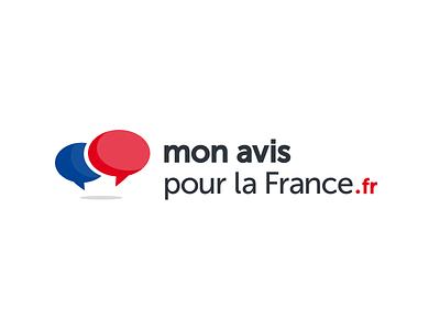 Final Version logo bubble blog debate french