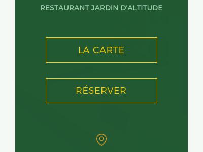 Perruche restaurant high-end upmarket website animation webdesign sketch restaurant
