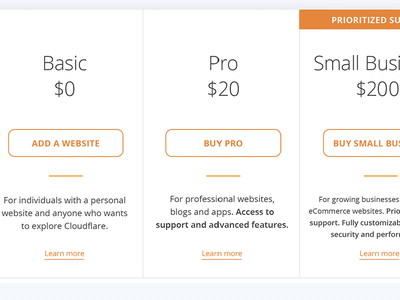Plans page redesign web interactive ui ux design plans pricing