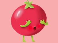 Why did the tomato blush?
