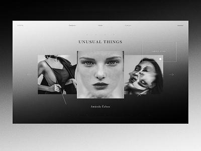 C Y T O digital typography website design concept ui ux