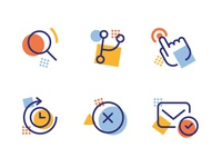 Random Icons design icon set ui icon