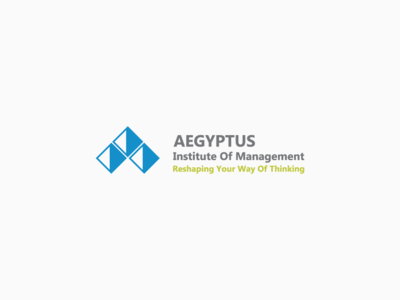 AEGYPTUS Logo pyramids pyramid logo designer logo design illustration design connection communication logo
