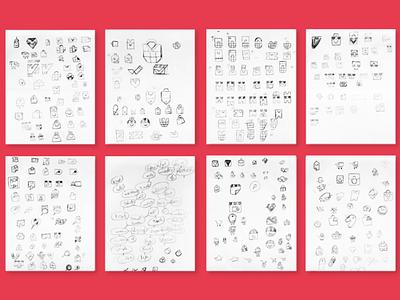 Vatreena logo sketches discounts basket cart shopping