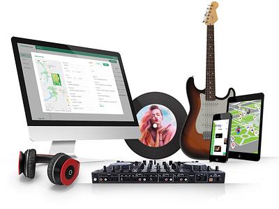 Whitelabel Festival App summer concert music android ios summer festival festival app festival