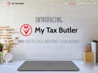 Mytaxbutler homepage