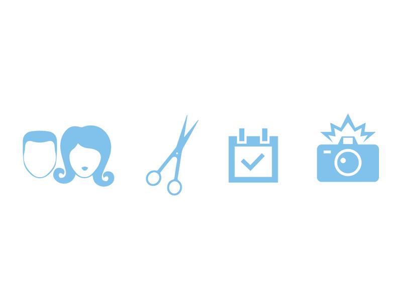 Shampoo svg icons