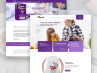 Medical food product website