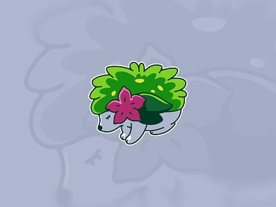 Shaymin | Pokemon dragon quest logo icon esport flat design nintendo animal flat graphicdesign sticker pokemon design illustration vector photoshop illustrator vector art