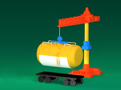 Toy tank web site illustration business child tank toy