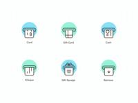 Icon set 2 - POS Terminal App
