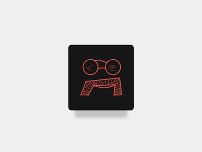 App Icon sunglasses mustache daily100 logodesign logo icon uidesign brand dailyui005 illustration appicon app ux ui dailyui