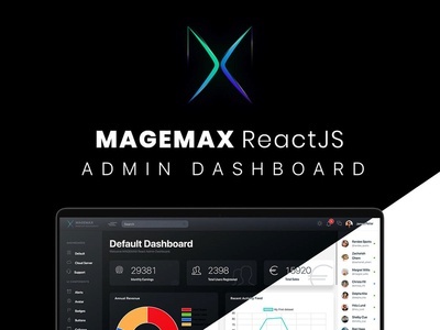 Magemax ReactJS Admin Dashboard