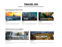 TravelGo - Travel and Tours Listings HTML Template