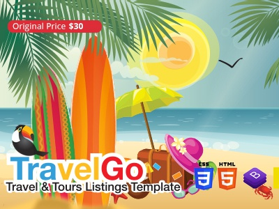 TravelGo HTML Template