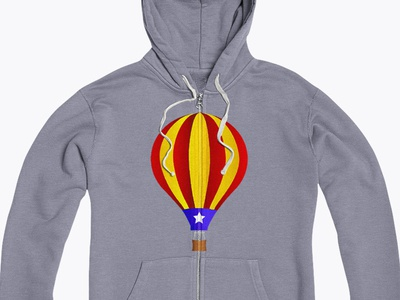 Catalan Independentist Air Balloon