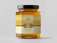 Al Marai Honey Premium Edition Design