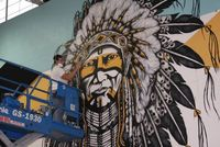 Warrior Mural