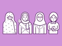 Illustrations of women