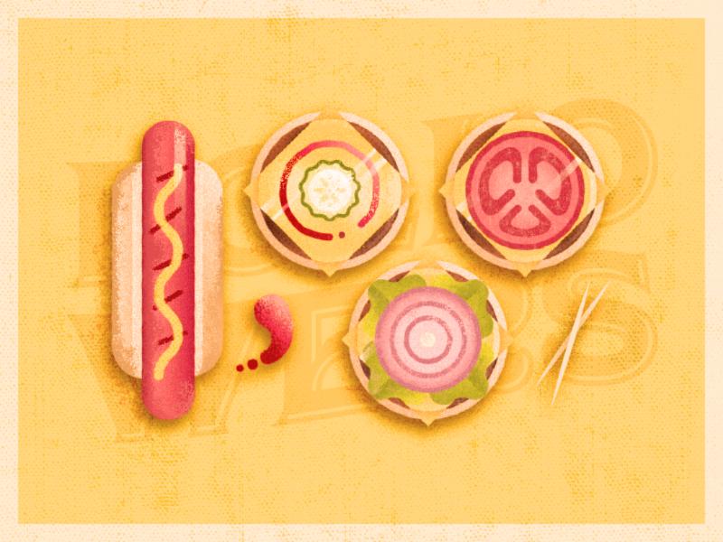 1000! holiday pickles cheeseburger burger hotdog grill labor day followers 1000