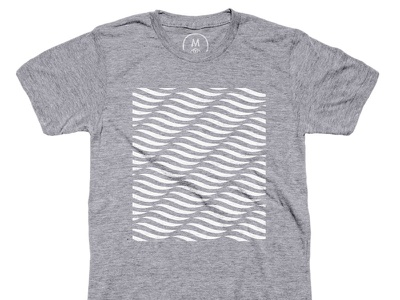Waves For Days Tee pattern clothing cotton surf tee tee shirt waves