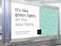 Uber Aiport Ad
