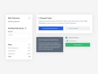 Advisor Portal - Components