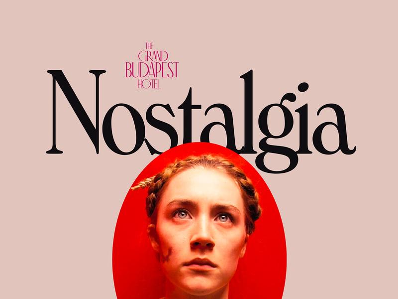 Nostalgia – 01 colour inspire bold concept design animation interactive concept cinema minimal design
