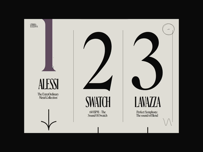 Chiara Luzzana – 02 score inspire web case interaction animation bold type elastic music work