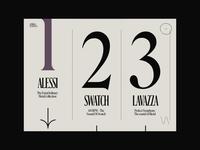 Chiara Luzzana –02 score inspire web case interaction animation bold type elastic music work