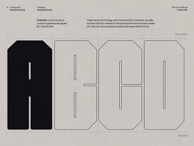 Cobo© – Identity 005 typeface fonts typedesign type minimal ui web bold design
