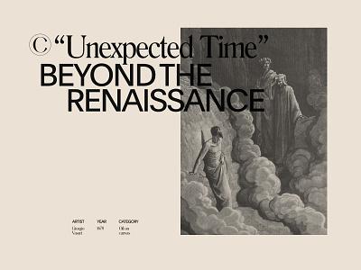 """Unexpected Time"" NO.02 ux ui minimalism web bold inspiration minimal colors brutalism design"